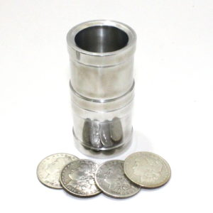 Silver Dollar Coin Tube by Omar Ferret