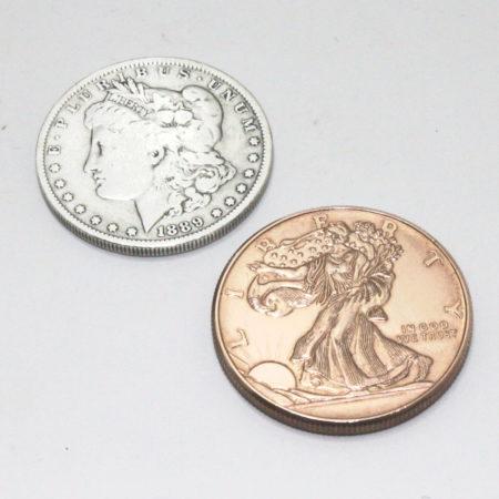 Hopping Half Set (Silver Morgans) by Mark Mason