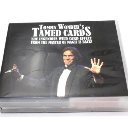 Review by Andy Martin for Tommy Wonder's Tamed Cards by Card-Shark