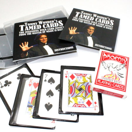 Tommy Wonders Tamed Cards by Card-Shark