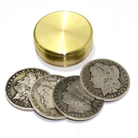 Buddha Okito Box (Silver Morgans) by Chazpro