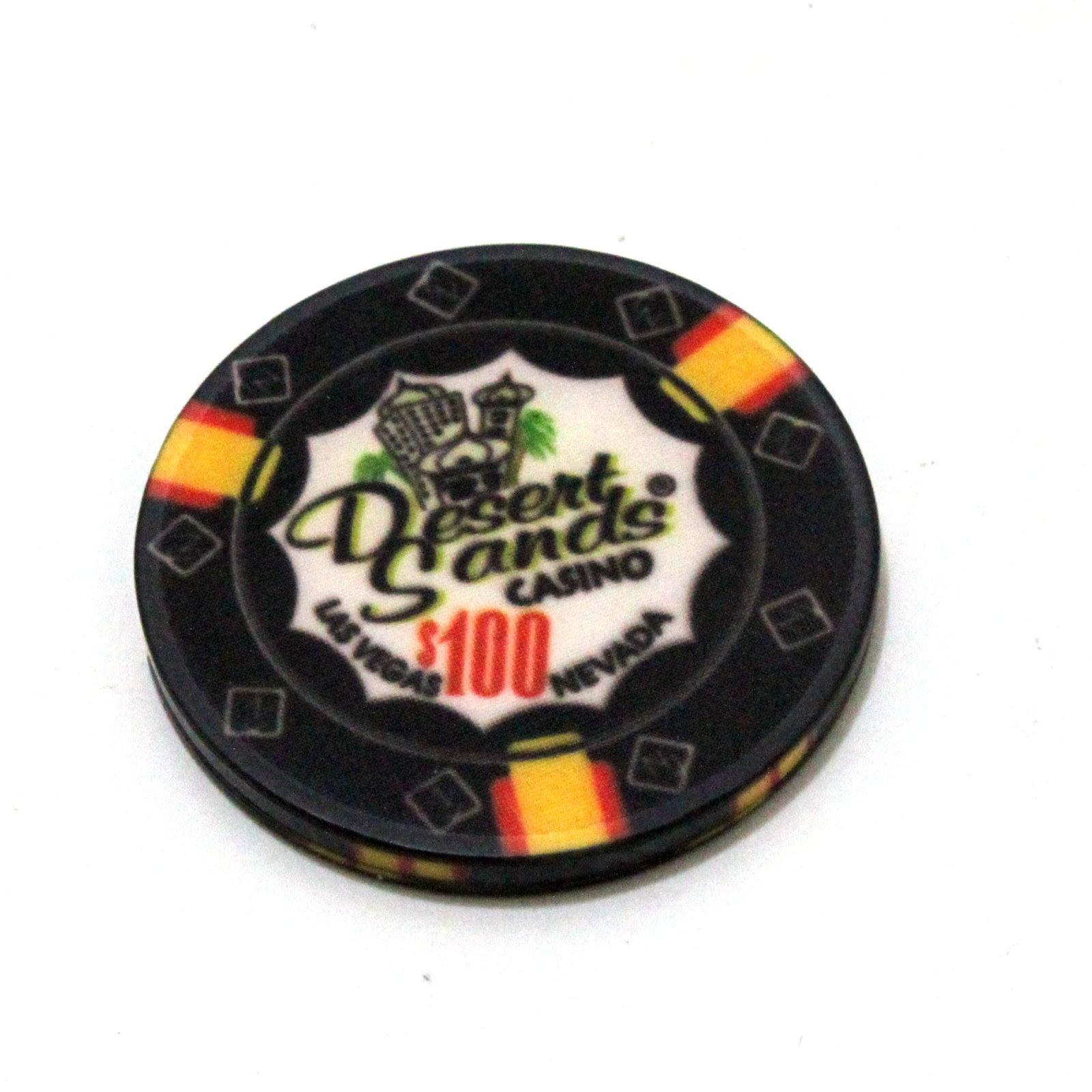 Gravity Flipper Poker Chip by Mark Mason