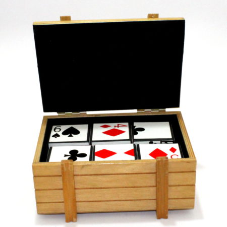 Card Dice (Jumbo) by Vienna Magic