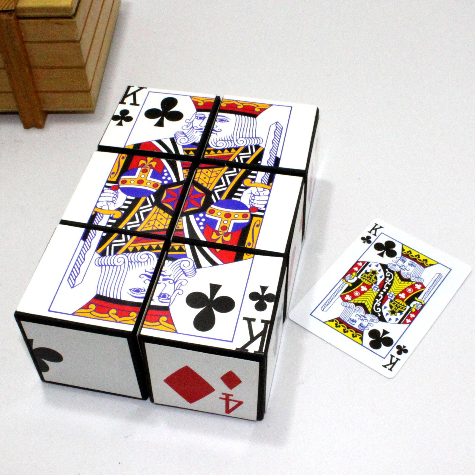Card Dice (Jumbo) by Vienna Magic