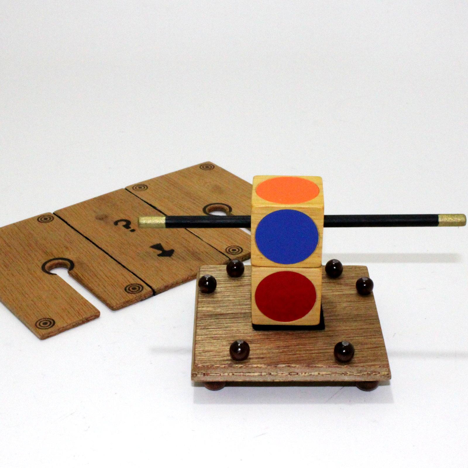 Cubes of Cagliostro by Howard Schwarzman, Magiro
