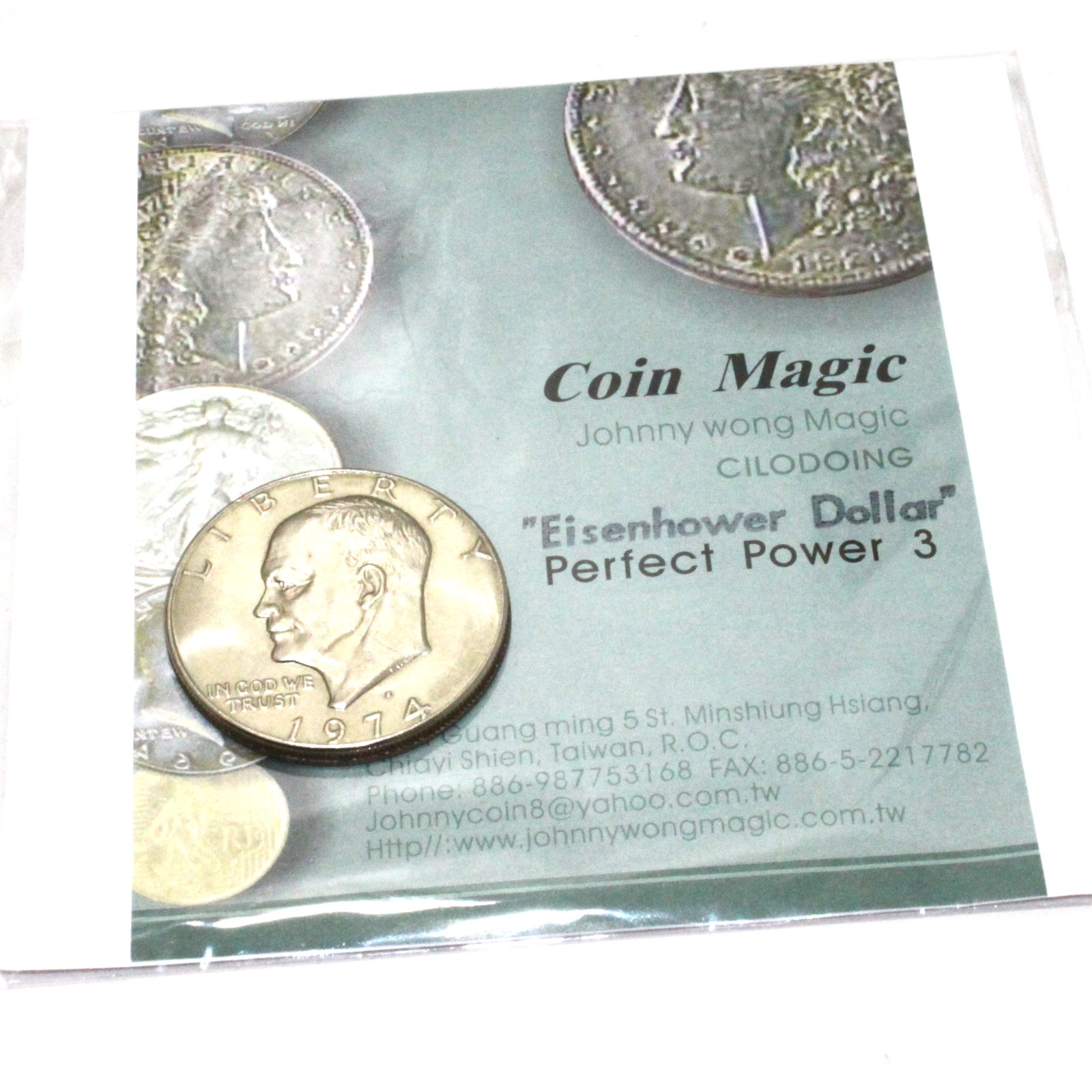Perfect Power 3 (Eisenhower Dollar) by Johnny Wong