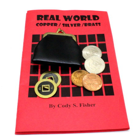 Real World Copper, Silver, Brass by Cody Fisher
