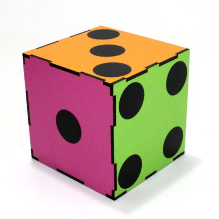 Color Changing Dice (3 times) by Tora Magic Company