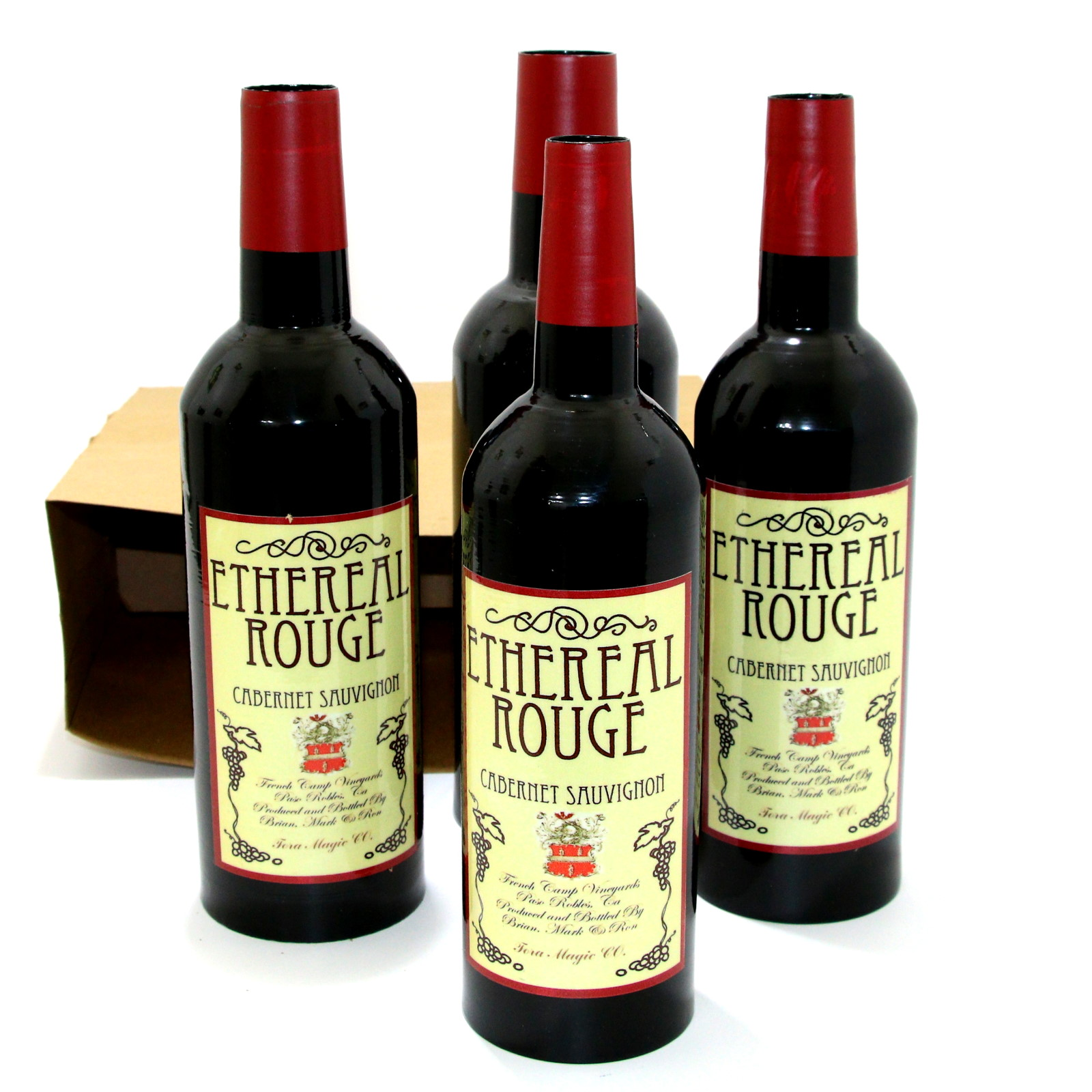 Appearing Wine Bottles from Paper Bag by Tora Magic Company