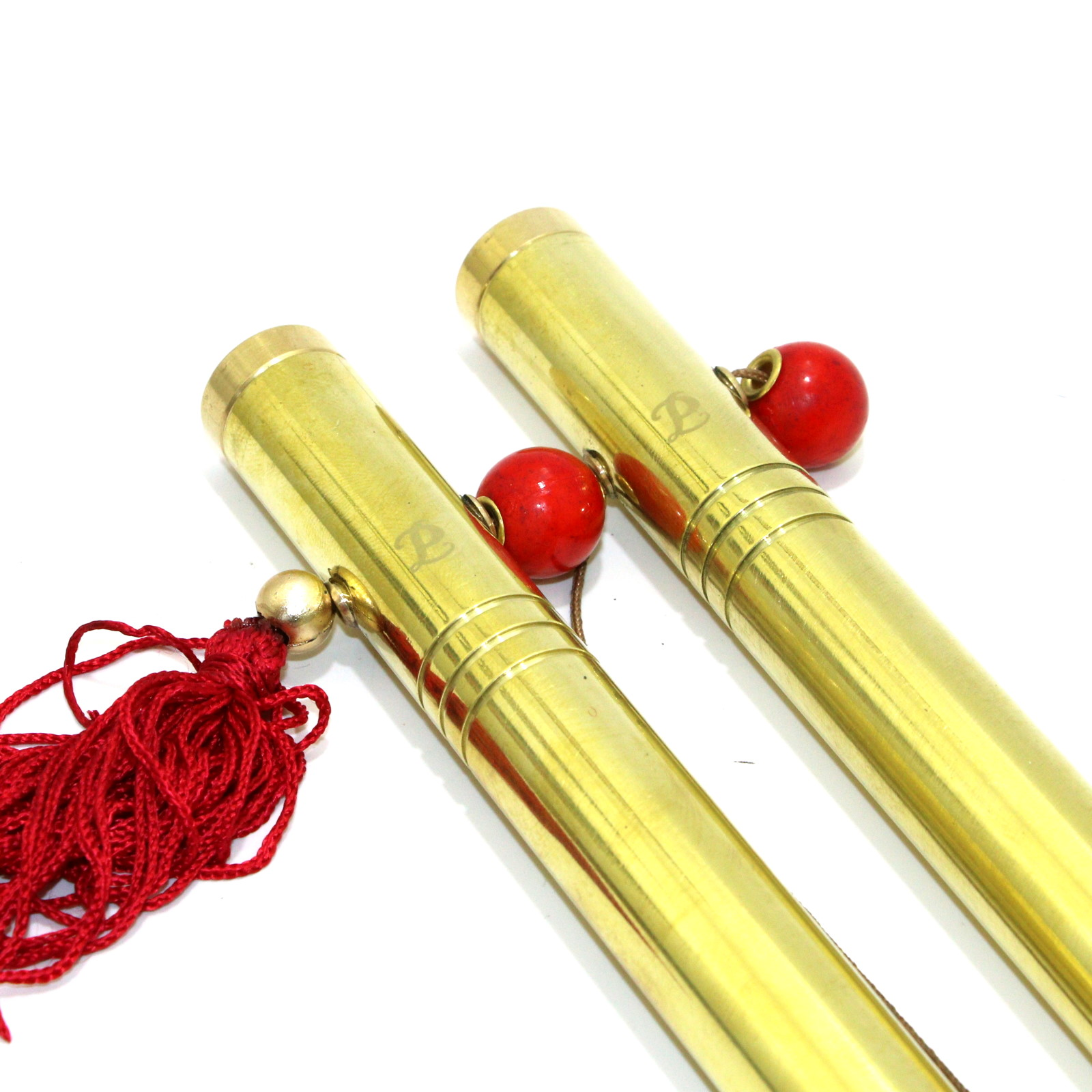 Chinese Sticks (Brass) by Petrie-Lewis