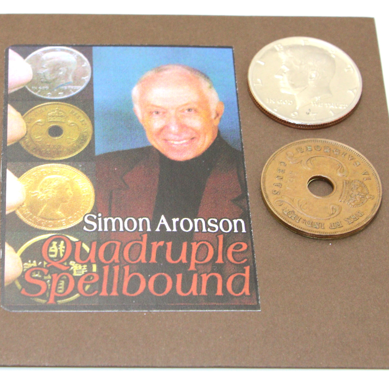 Quadruple Spellbound by Simon Aronson