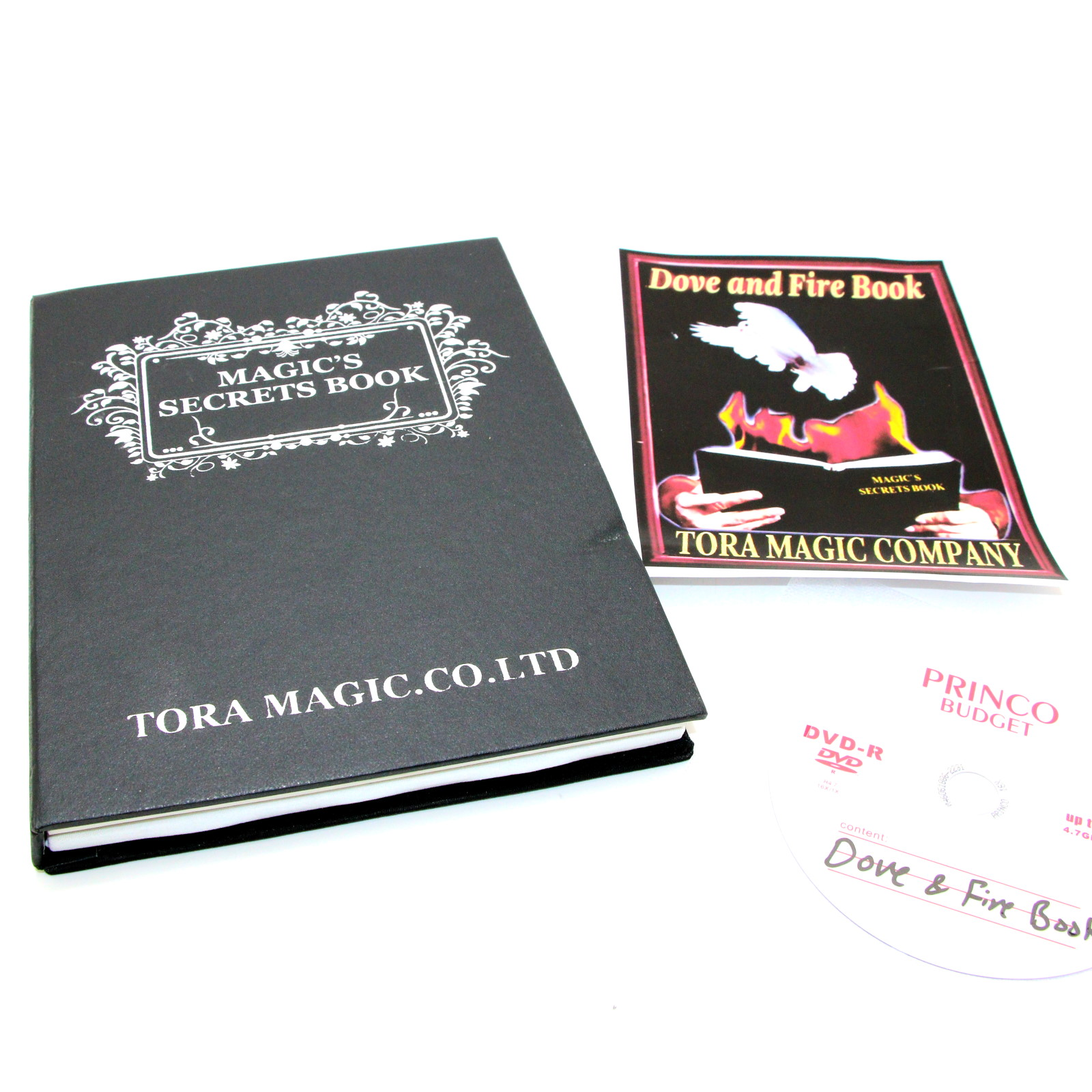 Dove and Fire Book by Tora Magic Company
