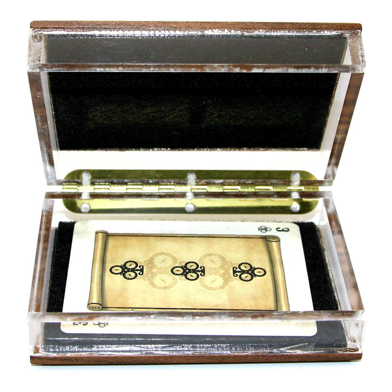Clear Card Box by Brian Cook