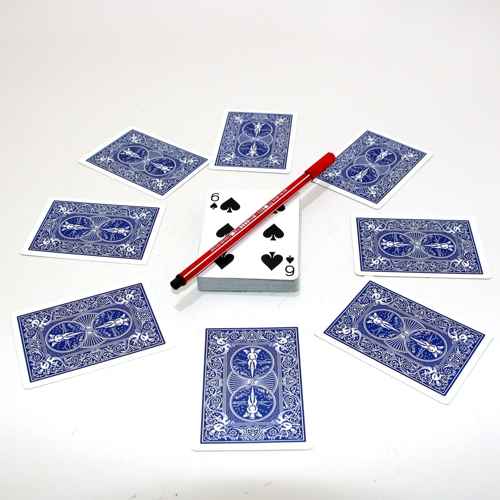 Magic Swiss Card Clock by Urs Auckenthaler