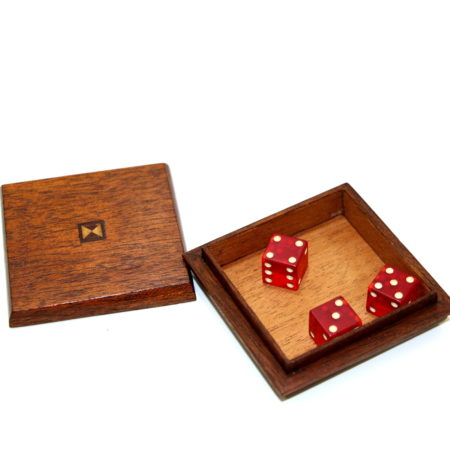 Three Mystic Dice by National Magic Company