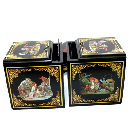 Oriental Twin Die Boxes by Michael Baker