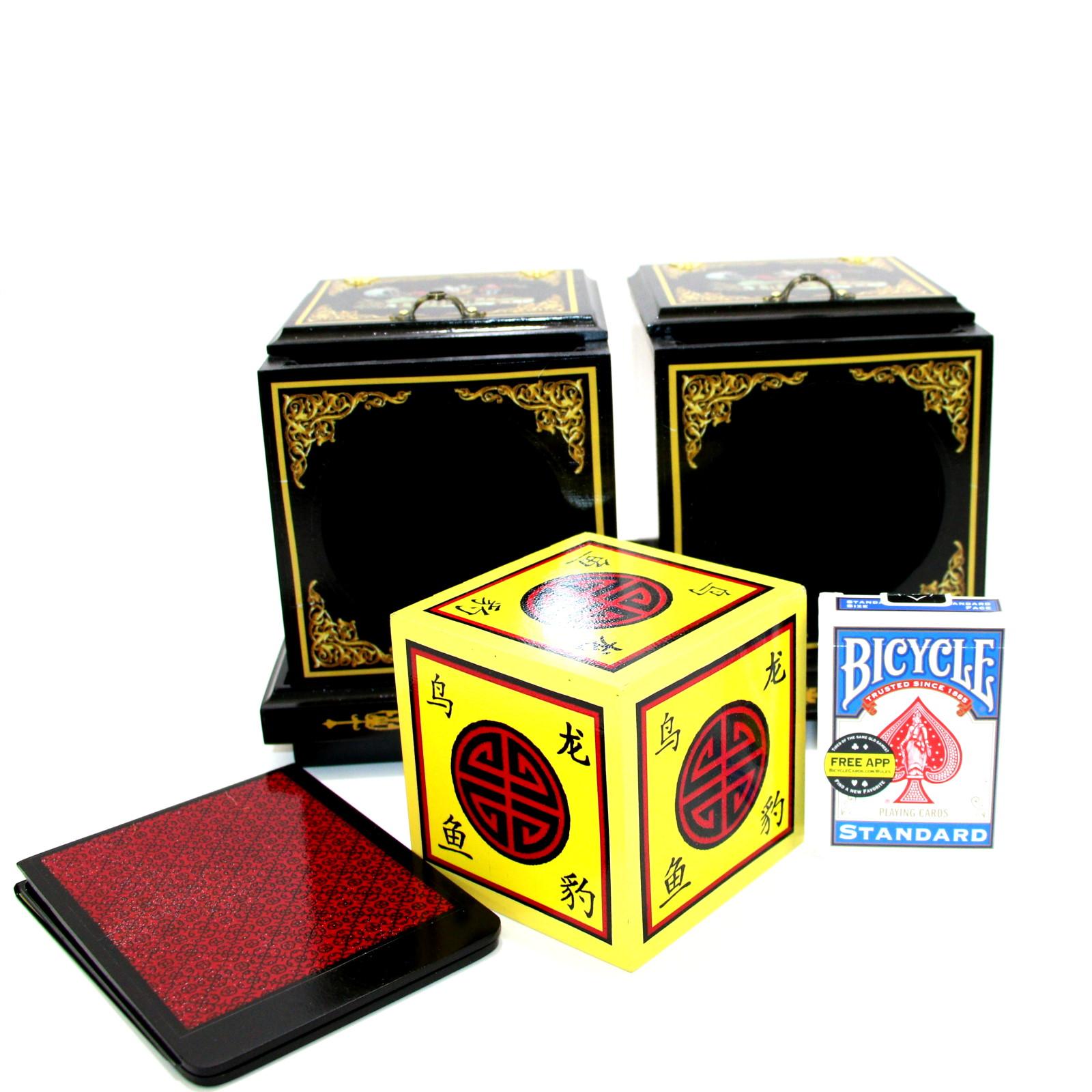 Oriental Twin Die Boxes by Michael Baker