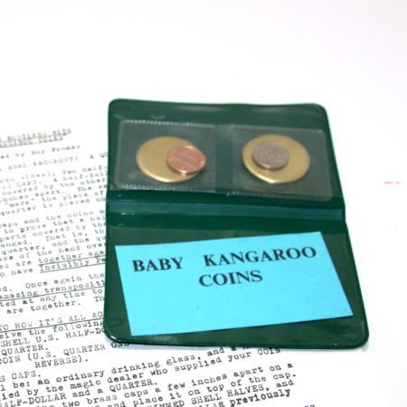 Baby Kangaroo Coins by Eddie Gibson, Unknown