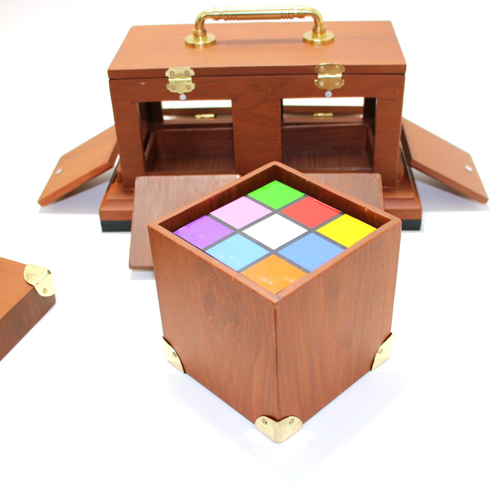 Back of Tora Rubik Cube by Tora Magic Company