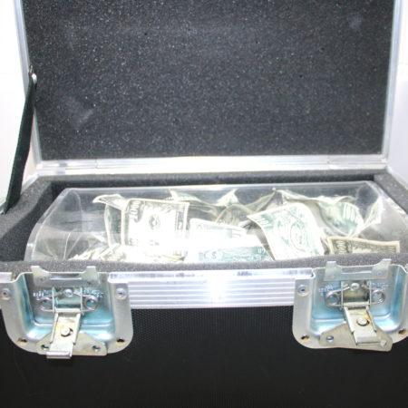 Crystal Money Chest by Owen Magic Supreme