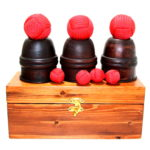 Wooden Cups & Balls with Chop Cup and Final Load