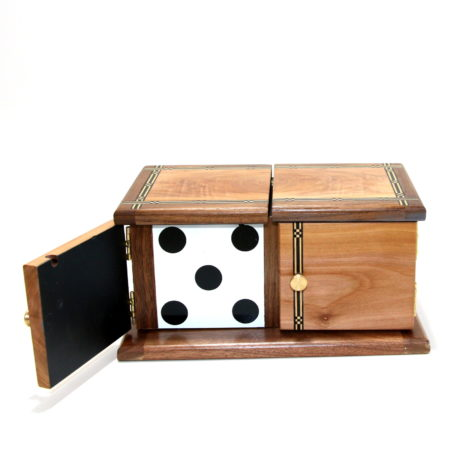Inlayed Die Box 3 by Mel Babcock