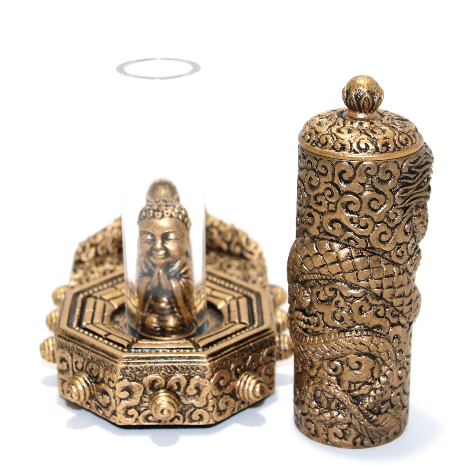 Golden Buddha by Magic Wagon