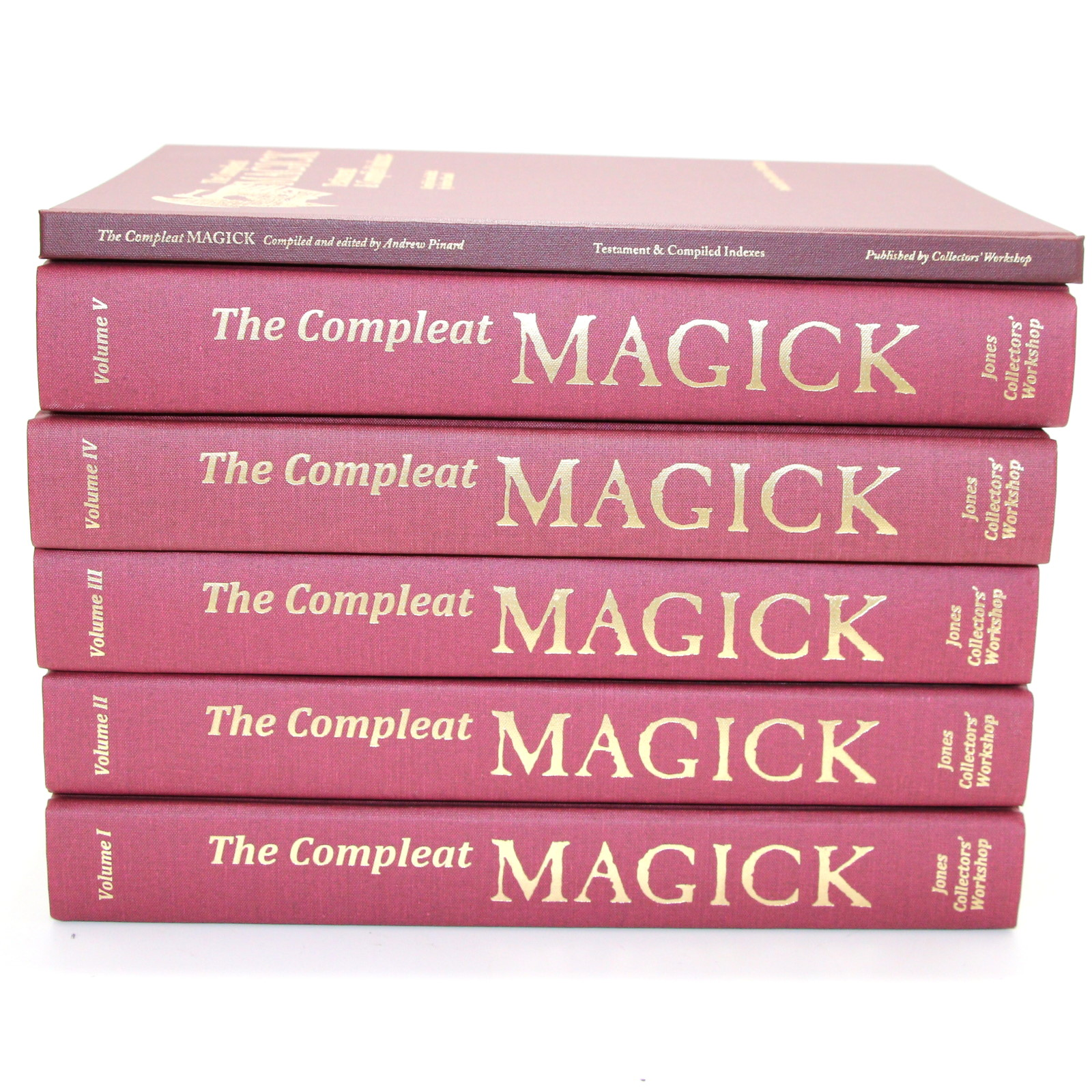 The Compleat Magic & Index by Bascom Jones