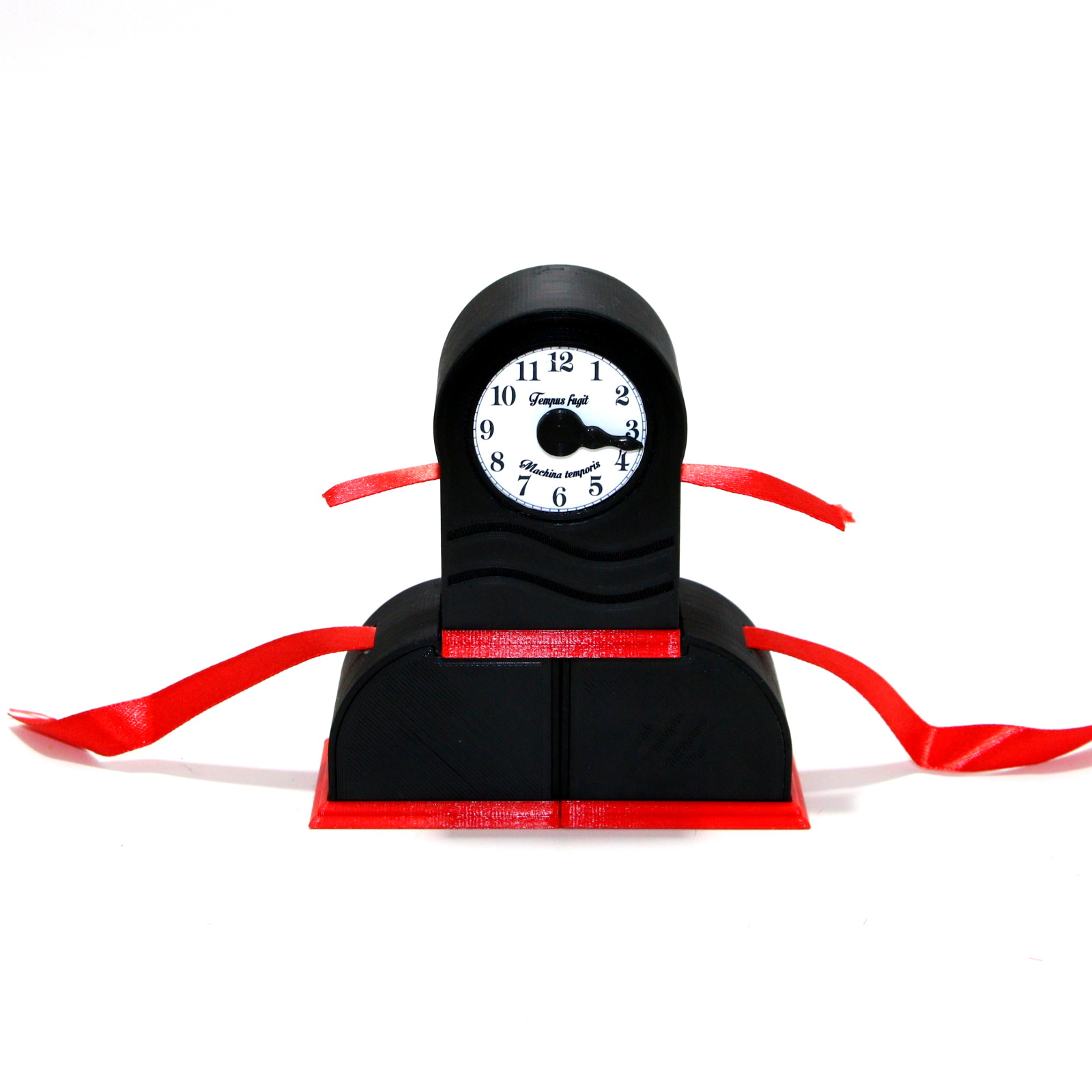 Ribbon Clock Time Machine by Øyvind Kaurstad