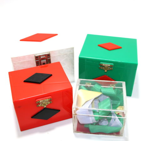 Review by Andy Martin for Vintage Acrylic Nest of Boxes by Silray Magic