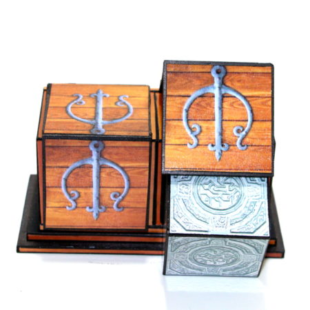 Micro Sliding Cube Box (Die Box) by Thomas Pohle