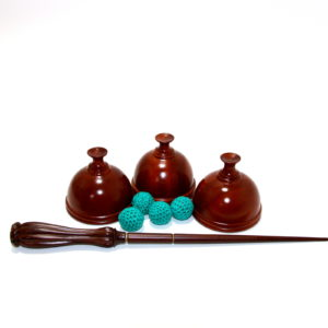 Hindu Cups and Ball Set with Wand by Collectors Workshop