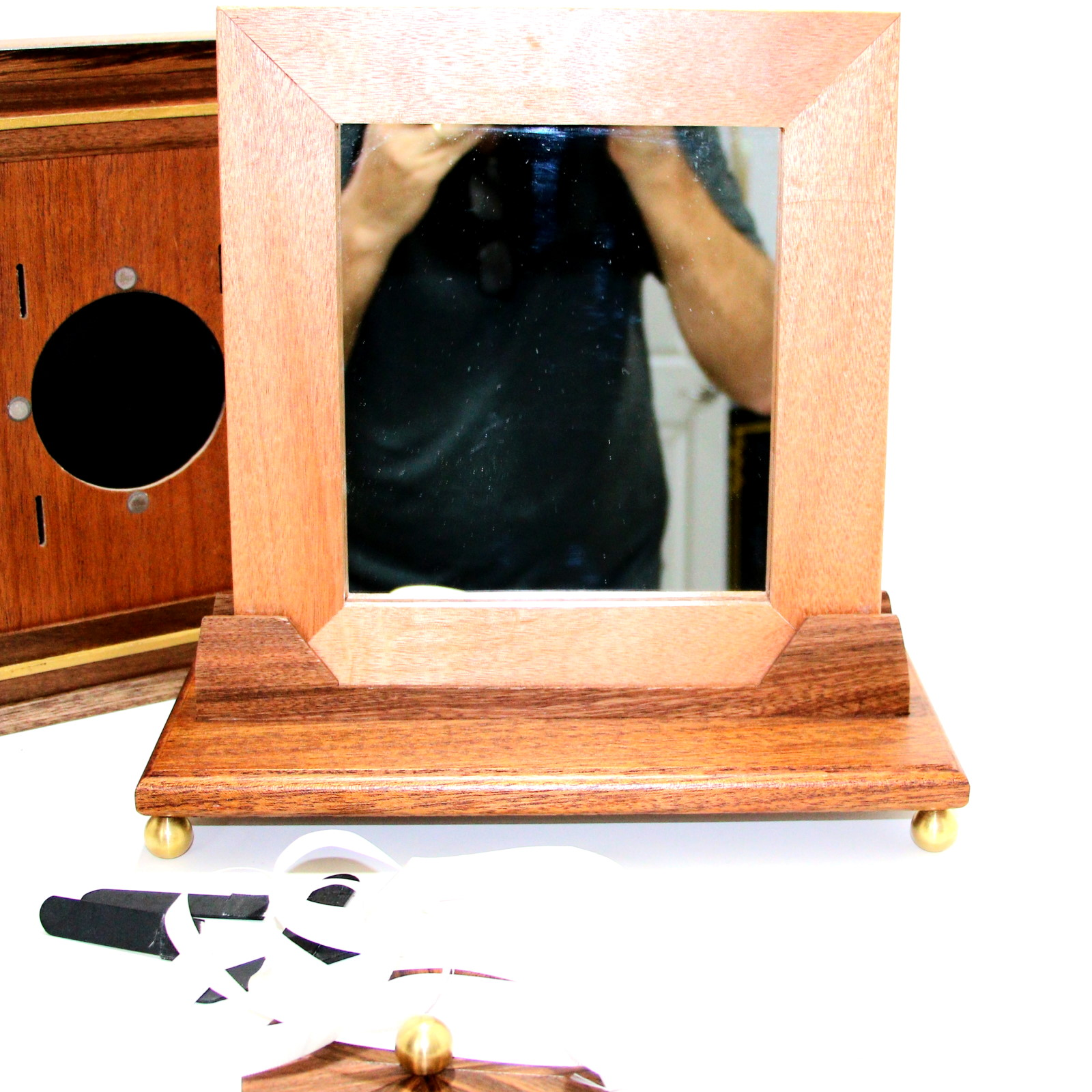Magiros Miracle Mirror Penetration (Deluxe Hardwood) by Limited Edition Magic