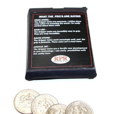 Gripper Coin Set by RPR Magic Innovations