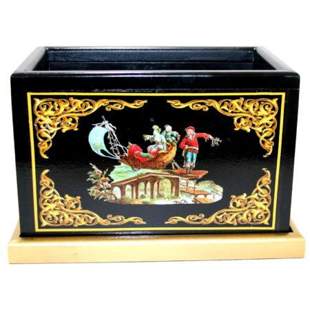Japanese Handkerchief Box by Michael Baker