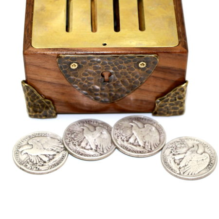 Powell Stevens Otto Mauer Coin Casket by Dave Powell