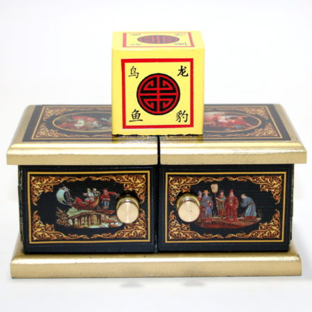 Review by Andy Martin for Oriental Mini Die Box by Michael Baker