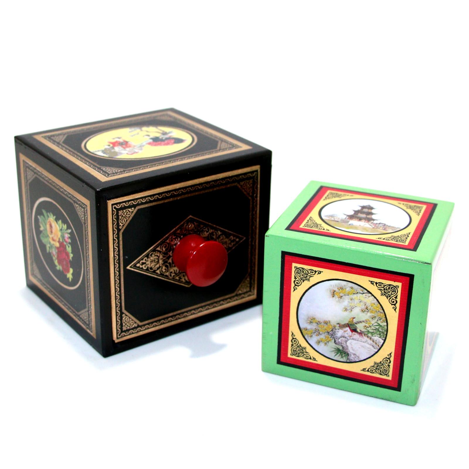 Oriental Block Transformation (Drawer Die Box) by Michael Baker