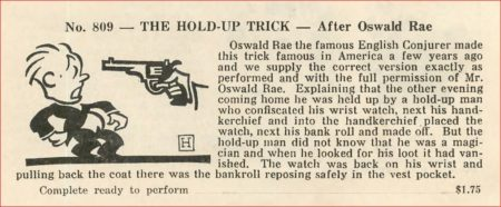 oswald-rae-the-hold-up-trick-ad-max-holden-catalog-10-1943