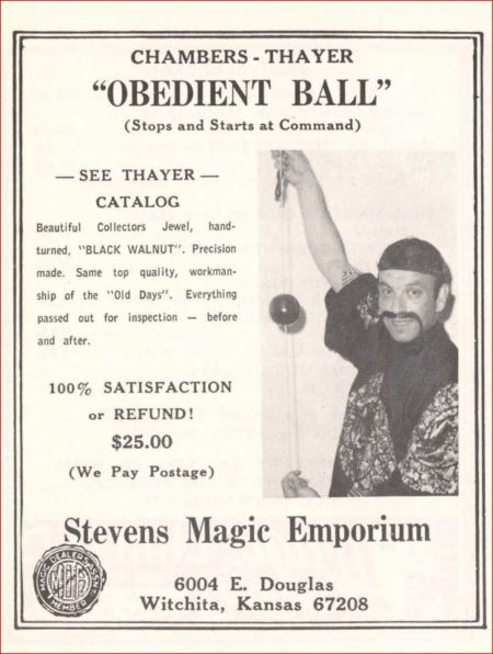 chambers-thayer-obedient-ball-ad-genii-1970-06