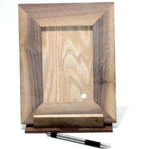 Sliding Hole in Wood Frame by Garrett Tilles