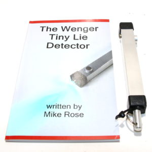 Wenger Tiny Lie Detector by Nick Wenger, Mike Rose