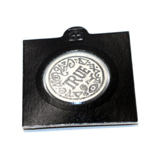 The Truth Coin in Fine English Pewter by Brian Watson