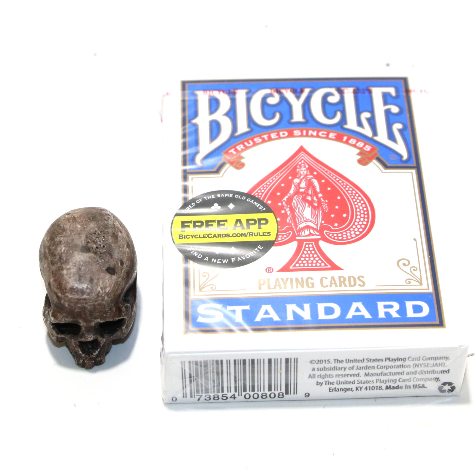 PK Catacomb Mini Skull by Little Jimmys Prop Shop