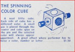 Predetermine Color Cube (Spinning Color Cube) by Max Holden