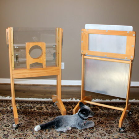 See-Thru Guillotine (with Stand + ATA Case) by Wellington Enterprises