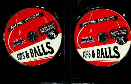 Anytime Anywhere Cups Balls DVD by Brian Watson