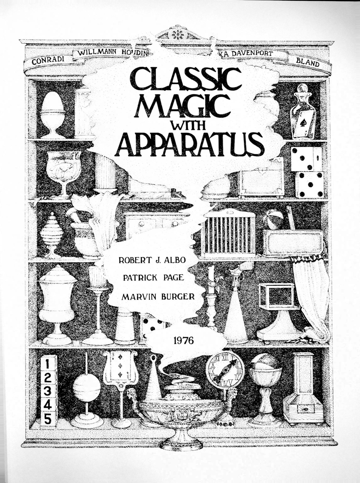 Albo 02 - Classic Magic With Apparatus by Robert J. Albo,  Patrick Page, Marvin Burger