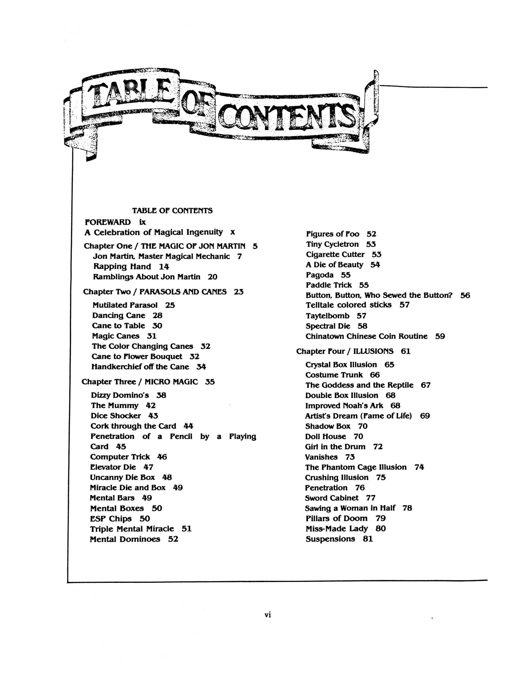 Albo 07 - Classic Magic Index by Robert J. Albo