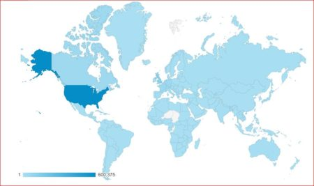 Visitors from around the World